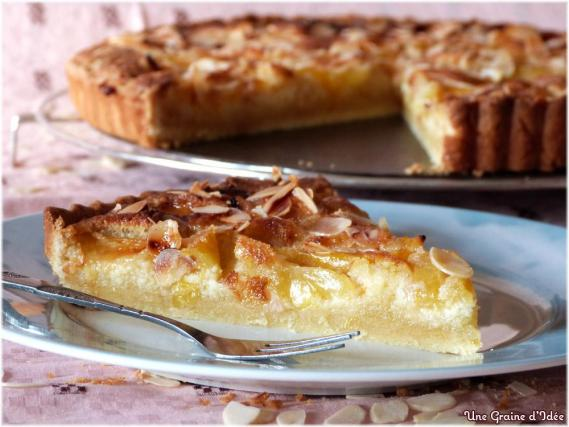 recette tarte aux prunes jaunes et amandes 750g. Black Bedroom Furniture Sets. Home Design Ideas