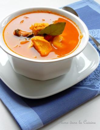 recette soupe de poissons 750g. Black Bedroom Furniture Sets. Home Design Ideas