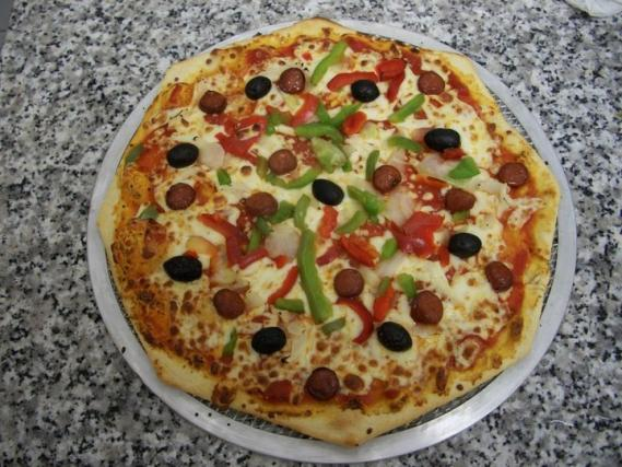 recette pizza aux merguez 750g. Black Bedroom Furniture Sets. Home Design Ideas