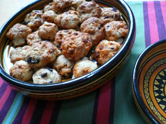 recette cookies sal s chorizo et olives 750g. Black Bedroom Furniture Sets. Home Design Ideas