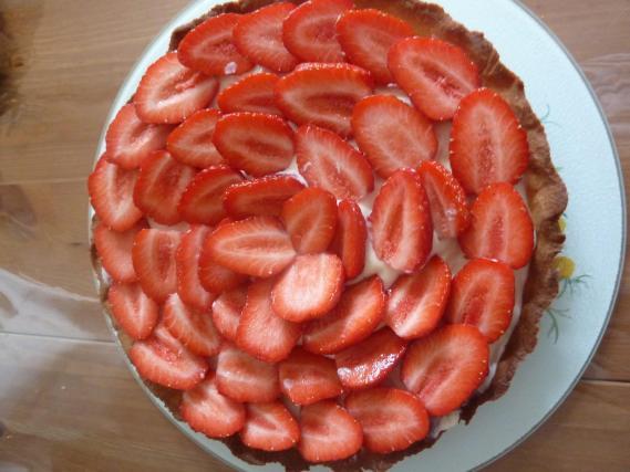 recette tarte aux fraises et mascarpone 750g. Black Bedroom Furniture Sets. Home Design Ideas
