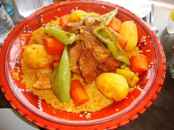 Recette couscous tunisien 750g - Recette cuisine couscous tunisien ...