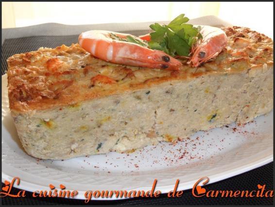 Recette terrine de lotte aux crevettes 750g - Cuisiner le foie de lotte ...