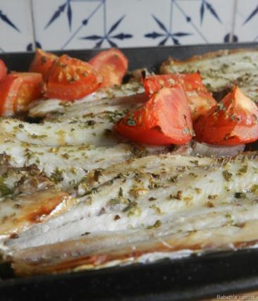 filets de sardines grilles