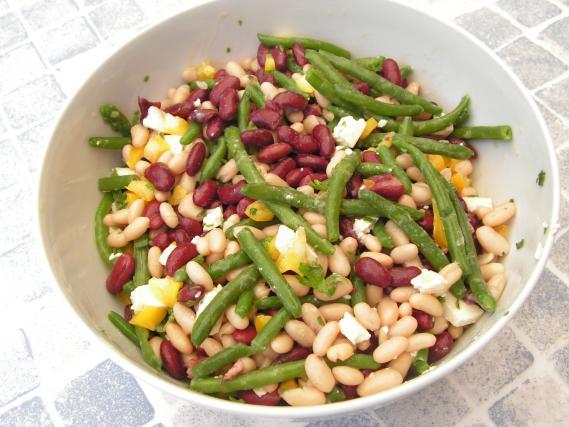salade de haricots rouges cow boy