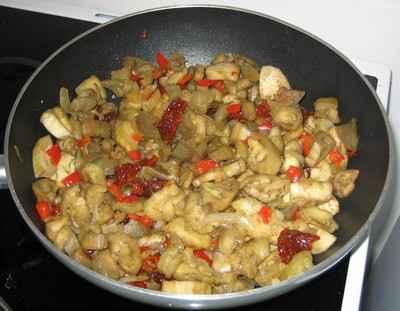 Recette aubergines aux tomates s ch es 750g - Cuisiner les morilles sechees ...