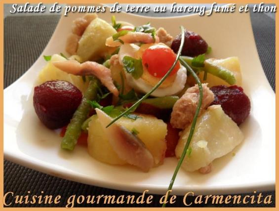 recette salade de pommes de terre au hareng fum 750g. Black Bedroom Furniture Sets. Home Design Ideas
