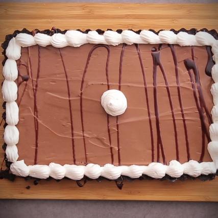 recette tarte au chocolat or o sans cuisson en vid o. Black Bedroom Furniture Sets. Home Design Ideas