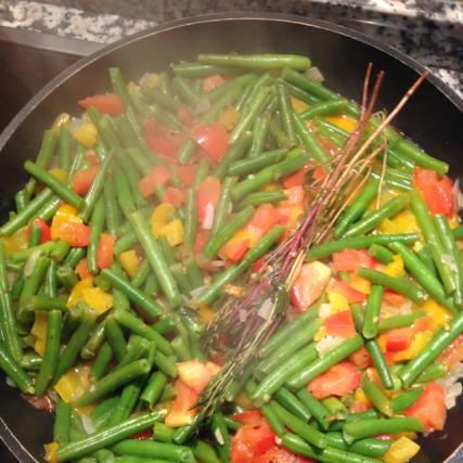 Recette haricots verts la tomate 750g - Cuisiner des haricots beurre ...