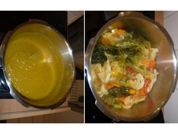 Recette soupe aux choux maison 750g - Soupe de legume maison ...