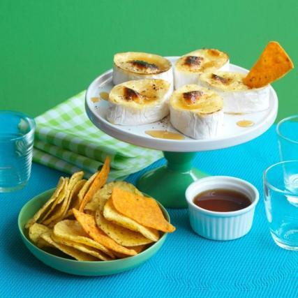 Recette dips de tortillas et fondue de camembert 750g - Comment faire des tortillas ...