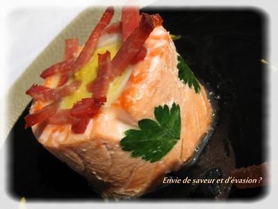 Recette corolle de saumon et sabre pur e de lentilles - Comment cuisiner des lentilles blondes ...