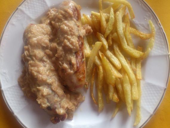 Recette andouillette grill e la moutarde not e 4 1 5 - Accompagnement andouillette grillee ...