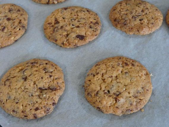recette cookies chocolat noisette not e 4 5. Black Bedroom Furniture Sets. Home Design Ideas