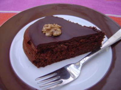 Gateau au noix et au chocolat