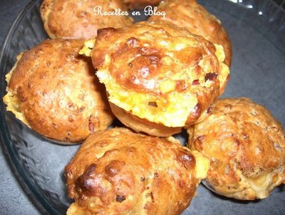 recette muffins au jambon fromage et basilic 750g. Black Bedroom Furniture Sets. Home Design Ideas
