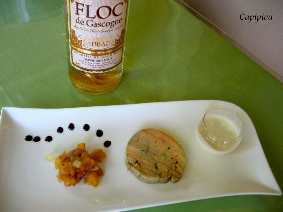 Recette chutney de pomme au floc cr me d 39 ail et foie for Chutney de pommes pour foie gras