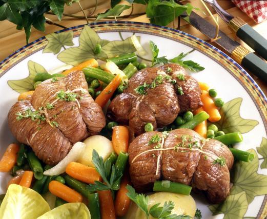 Recette paupiettes de veau aux carottes 750g - Cuisiner des paupiettes ...