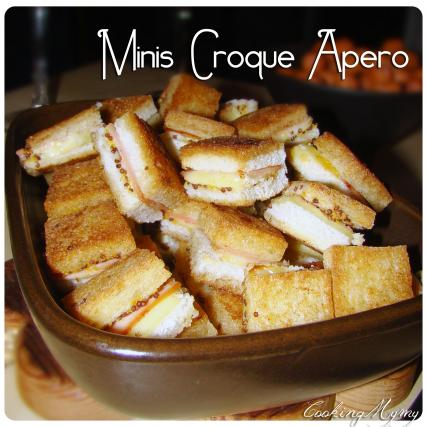 recette mini croque ap ro croque monsieur not e 4 5. Black Bedroom Furniture Sets. Home Design Ideas