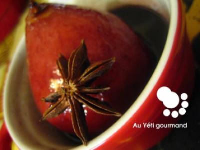 recette poire d 39 amour au vin rouge et pices 750g. Black Bedroom Furniture Sets. Home Design Ideas