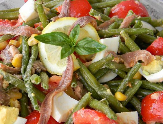 Recette - Salade de haricots verts estivale | Notée 4.2/5