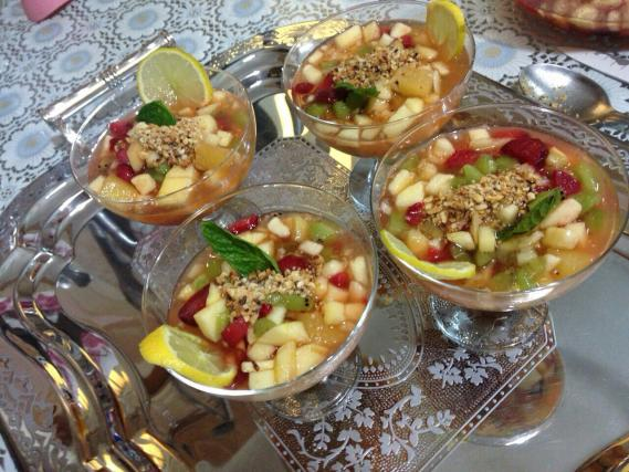 Recettes salades de fruits for Eliminer les vers des salades