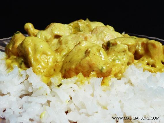 Recette Poulet Au Curry Et Lait De Coco 750g
