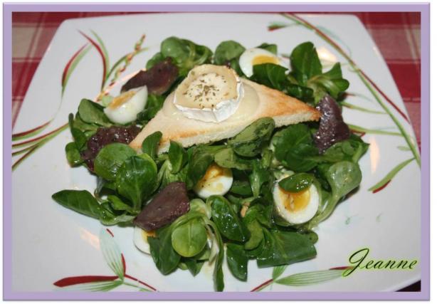 recette salade de ch vre chaud et g siers confits 750g. Black Bedroom Furniture Sets. Home Design Ideas