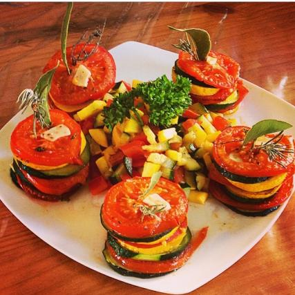 recette tian tomates courgettes not e 4 3 5. Black Bedroom Furniture Sets. Home Design Ideas