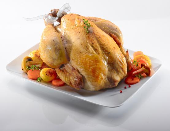 Recette chapon r ti au four 750g for Cuisine un chapon