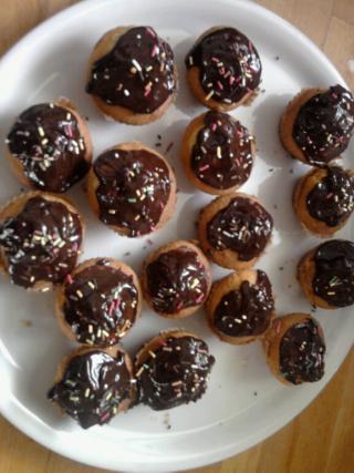 recette cupcakes la vanille gla age chocolat 750g. Black Bedroom Furniture Sets. Home Design Ideas