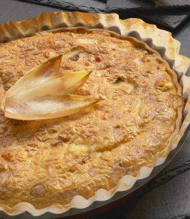 tarte d endives aux maroilles et lardons