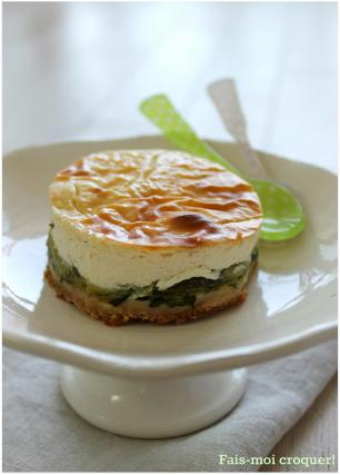 recette cheesecake aux courgettes not e 4 2 5. Black Bedroom Furniture Sets. Home Design Ideas