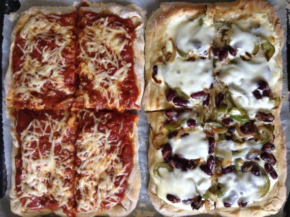 Recette p te pizza maison 750g - Recette pate a pizza italienne fine ...
