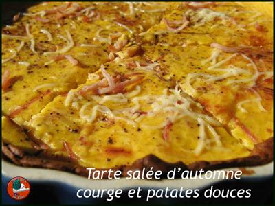 recette tarte sal e d 39 automne courge patates douces 750g. Black Bedroom Furniture Sets. Home Design Ideas