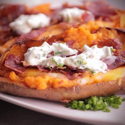 recette - patates douces rôties au four en vidéo