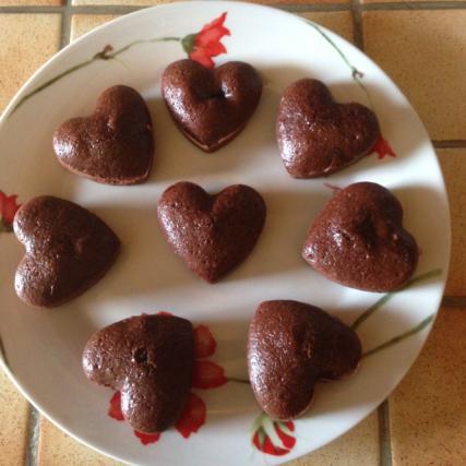 Recette fondant au chocolat not e 4 2 5 - Fondant au chocolat 2 oeufs ...
