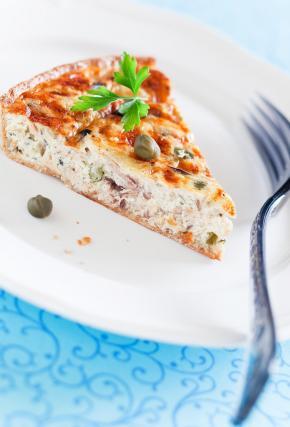 recette tarte au thon au fromage fais de st m ret 750g. Black Bedroom Furniture Sets. Home Design Ideas