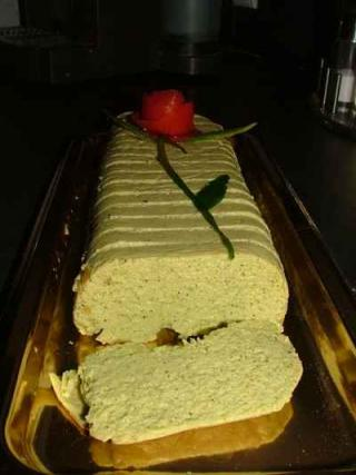 recette terrine de courgettes au fromage de ch vre et thon not e 4 5. Black Bedroom Furniture Sets. Home Design Ideas