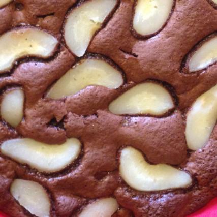Recette gateau yaourt poire chocolat