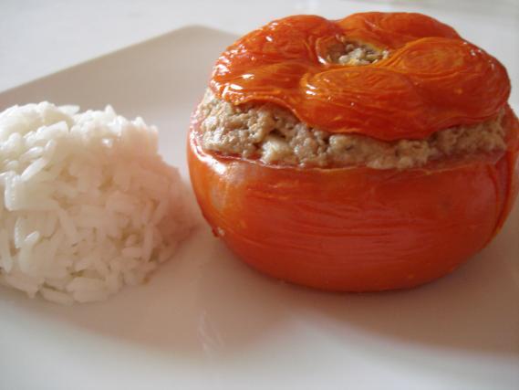 recette tomates farcies au four 750g. Black Bedroom Furniture Sets. Home Design Ideas
