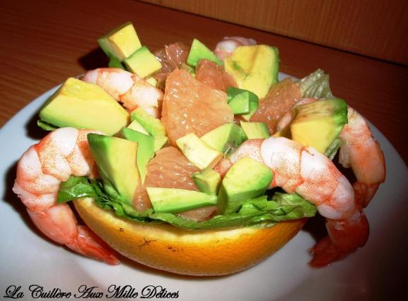 recette salade de pamplemousse avocat et crevettes 750g. Black Bedroom Furniture Sets. Home Design Ideas