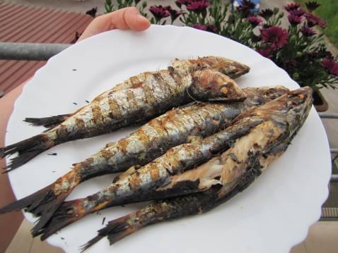 Recette sardines au barbecue not e 4 5 - Sardine grillee au barbecue ...