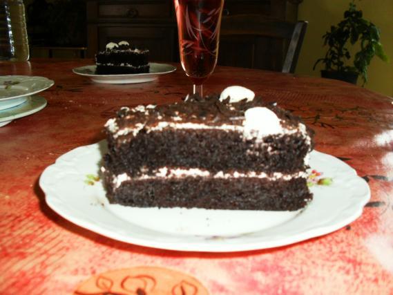 Gateau foret noire recette facile secrets culinaires - Recette gateau foret noire ...