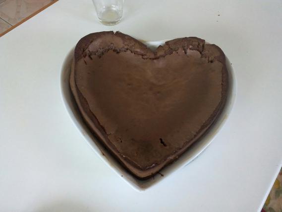 Recette g teau au chocolat et beurre sal facile not e 4 1 5 - Gateau chocolat beurre sale ...