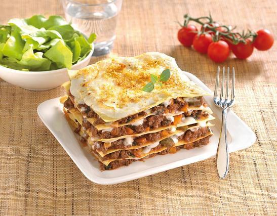 Recette - Lasagnes à la bolognaise en vidéo