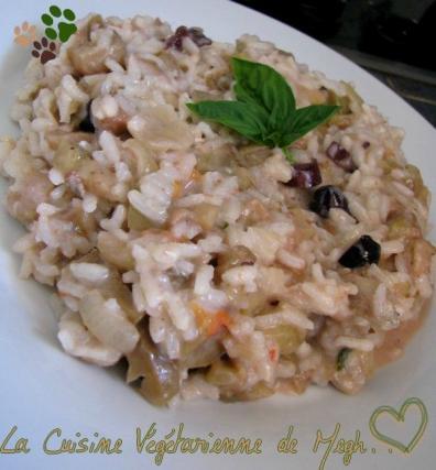 Recette risotto aux aubergines tomates et grgonzola 750g for Cuisine 750g