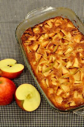 Recette gateau aux pommes pepere