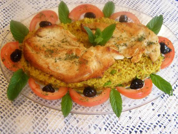 Recette quinoa au curry et blanc de poulet not e 4 2 5 - Cuisson blanc de poulet au four ...