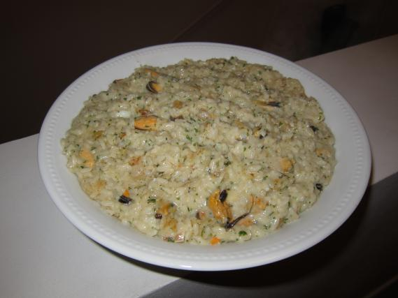recette risotto aux fruits de mer 750g. Black Bedroom Furniture Sets. Home Design Ideas